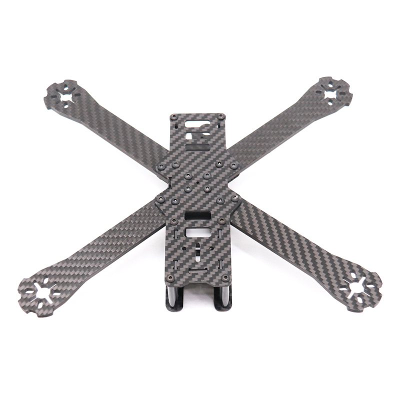 TCMMRC FPV Frame Boat-X Wheelbase 250mm 4mm Arm Carbon Fiber For FPV Racing Drone Frame Parts