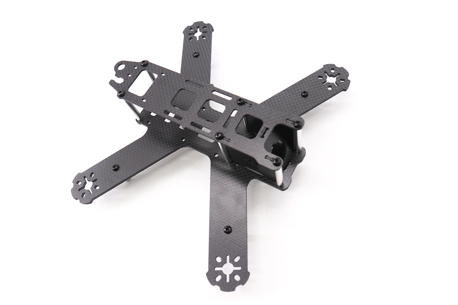 TCMM 5 Inch Drone Frame LS-210 Wheelbase 210mm Bottom Fuselage In One Make 3mm Carbon Fiber Arm For Rc Drone