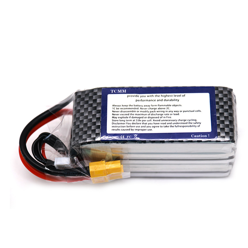 18.5V battery 1550mAh 5S Lipo battery charger 80C with lipo with XT60 plug FPV