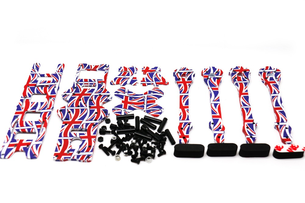 TCMM 5 Inch Drone Frame X220HV The Union Jack Printed