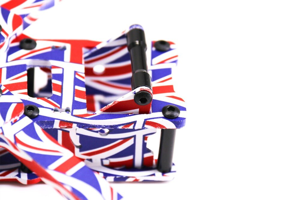 TCMM 5 Inch Drone Frame X220HV The Union Jack Printed9