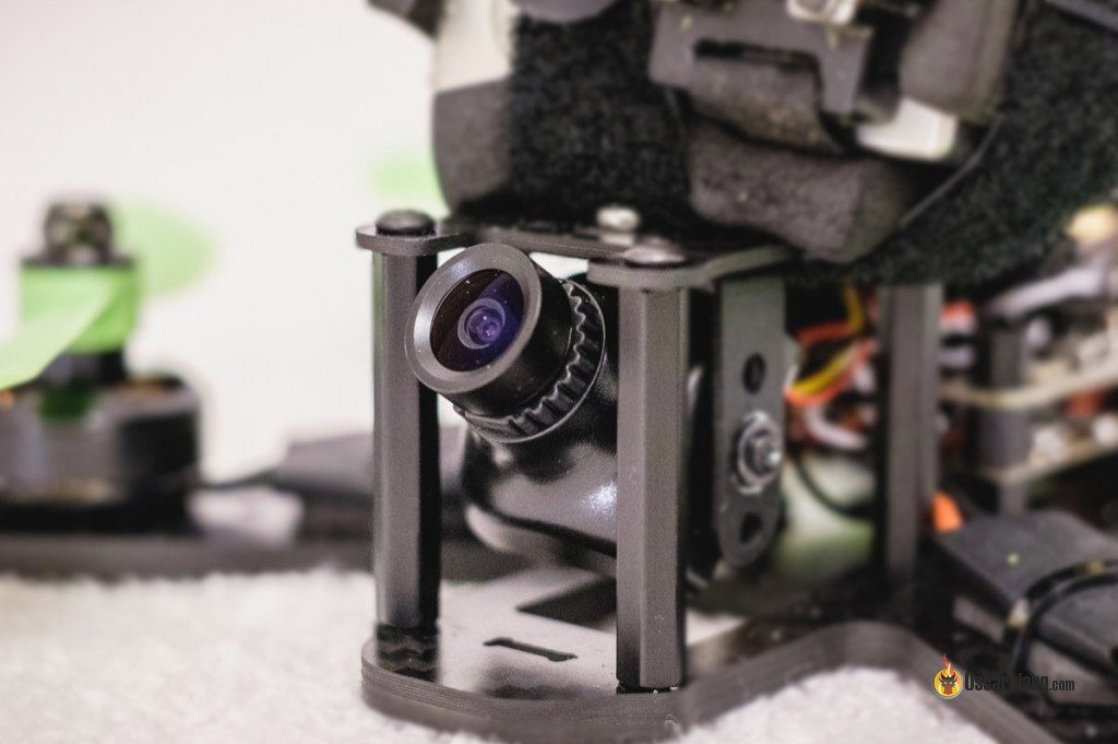 FPV Camera installed in a racing drone